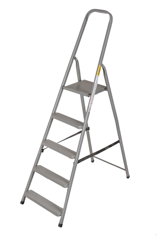 Abbey Steel Step Ladder 5 Tread Abbey Ladders