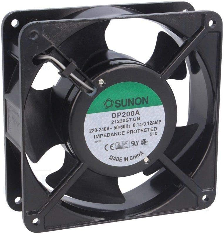 DP201A 2123HST.GN 220V-240V 120mm x 120mm x 38 mm 0.125/0.11 Amp OL0333 Cooling Fan