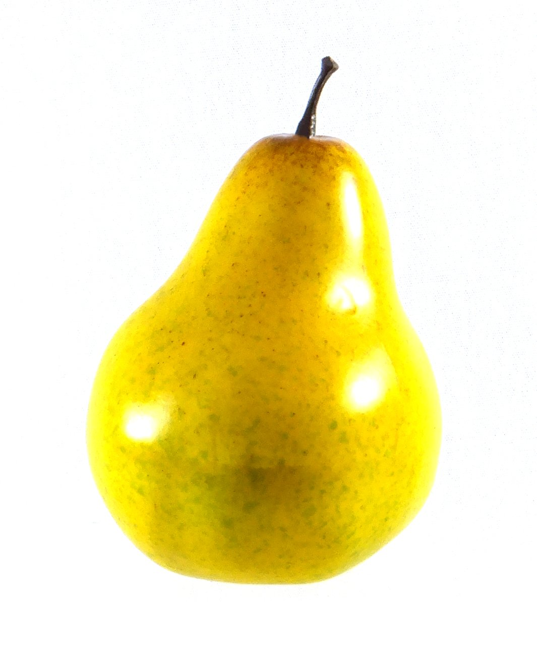 Amazon.com: 6pc Artificial Yellow Pear Large - Plastic Pears Fruit ...