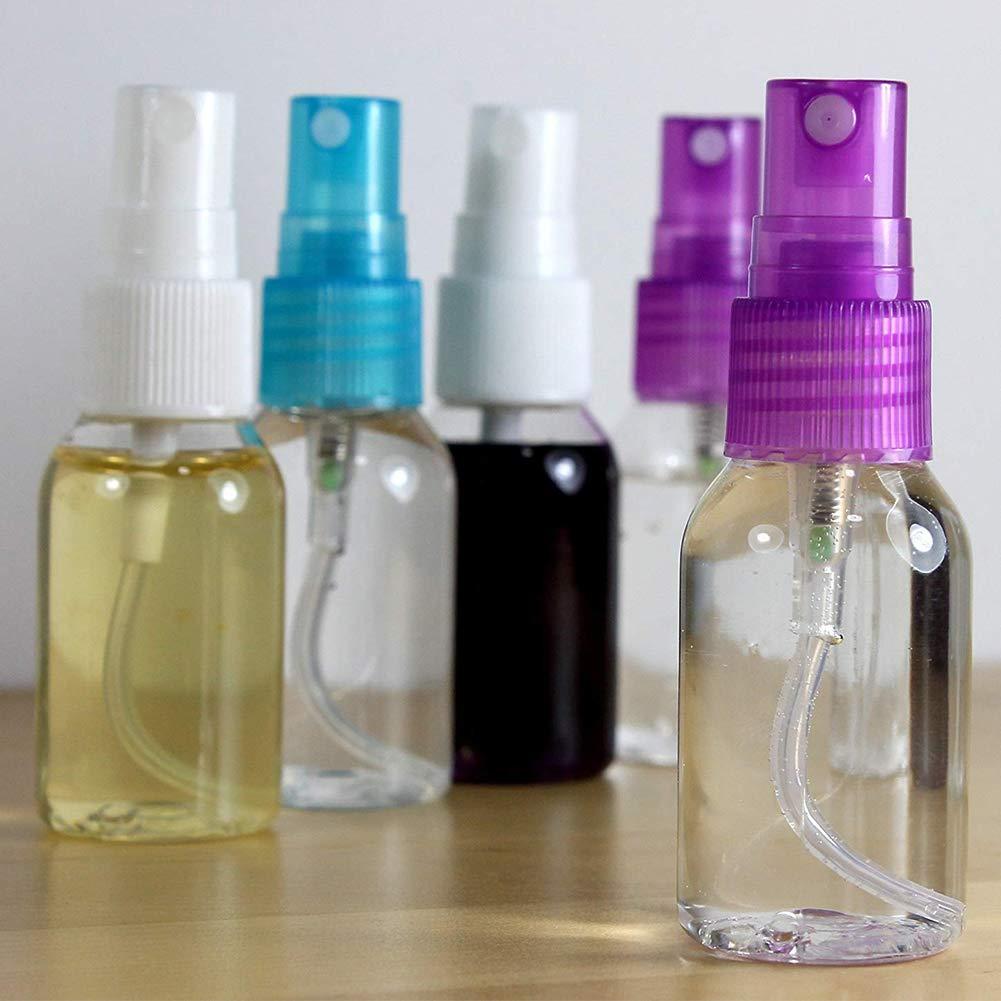 DDG EDMMS 5 PCS Sch/önheit Transparent Plastic Vernebler 30ml bewegliche kosmetische Spr/ühflasche Reisen Vial zuf/ällige Farbe