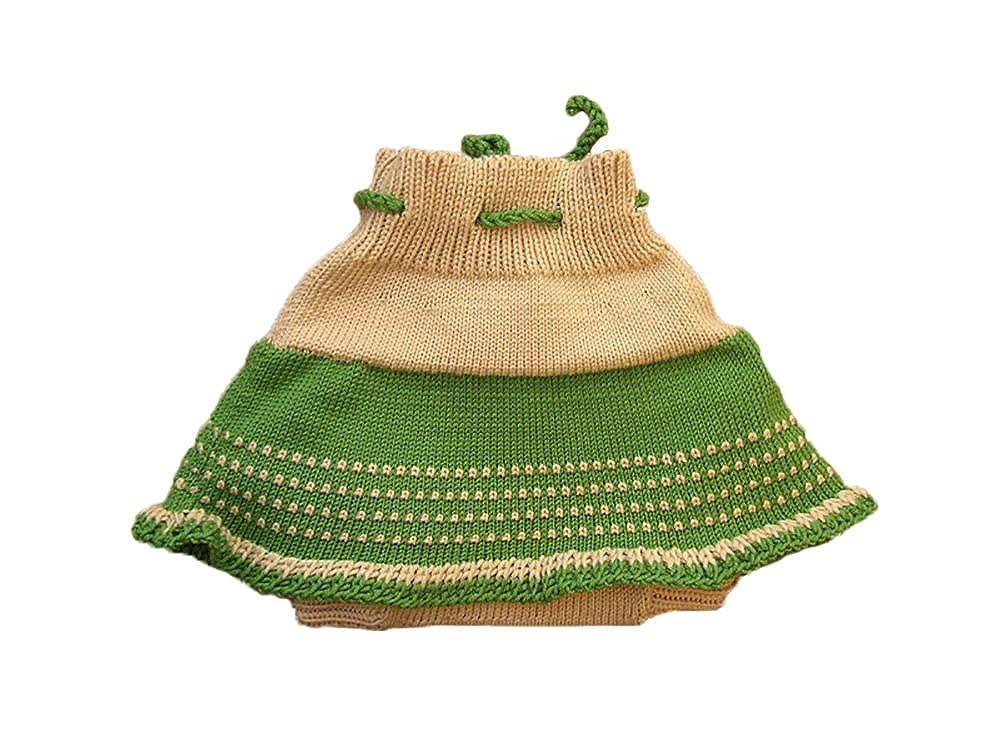Amazon Merino Wool Baby Girl Knit Soaker Diaper Cover Skirt