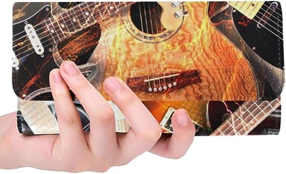 Guitarra eléctrica Personalizada única rodeada de relámpagos para ...