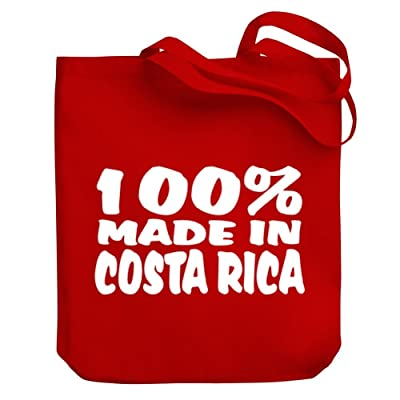 Teeburon 100 Made in Costa Rica Canvas Tote Bag