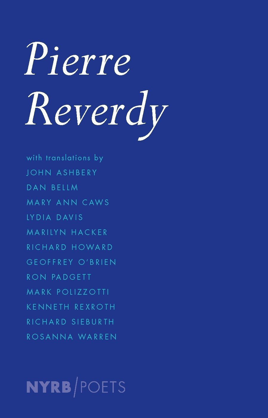 Pierre Reverdy (New York Review Books Poets): Amazon.es ...