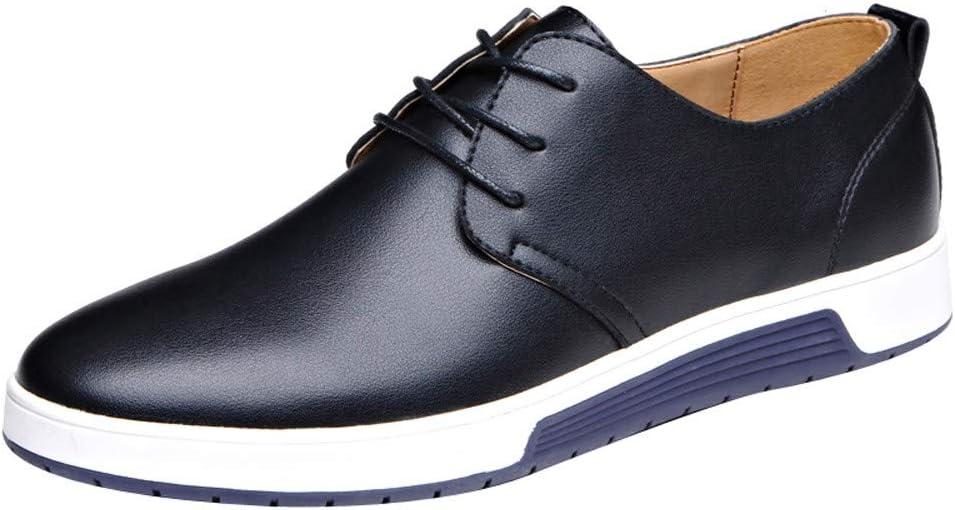 SFE Men Casual Leather Flat Shoes Shoes Business Shoes Wedding Shoes Fashion Dress Shoes