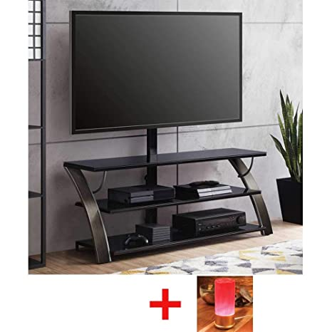 Amazon Com Whalen Payton Charcoal 3 In 1 Flat Panel Tv