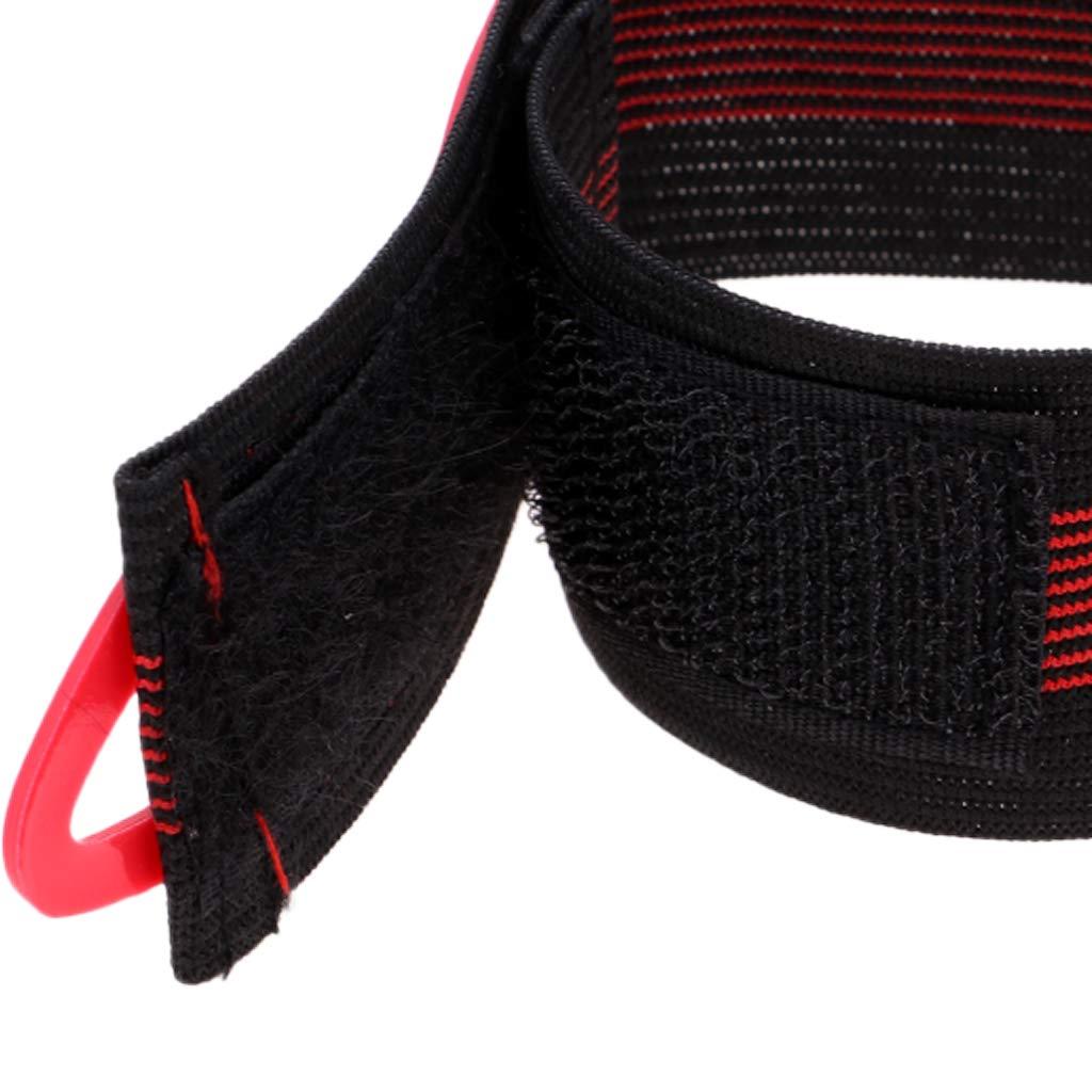 Baoblaze 1 Paar Hosen Klettband Hosengummiband mit Klett Reflektorband zum Joggen Radfahren Joggen