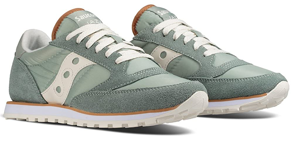 Aqua Grey  White Saucony Originals Women's Jazz Lowpro Sneakers