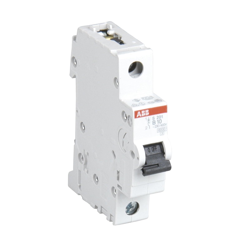 1-polig 10A ABB 47262L Sicherungs-Einbauautomat 6kA 230//400V