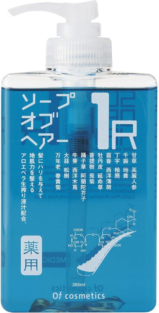 オブ・コスメティックス 薬用ソープオブヘア・1-R スタンダードサイズ(シトラスフレッシュの香り) 265ml