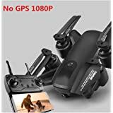 Hd 1080P FPV WiFi GPS RC Drone Live Video 5G Follow Me High Hold Mode Foldable Quadcopter Drone