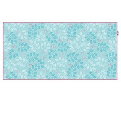 Beach towel Serviette de natation à séchage rapide plage mat fitness sport serviette serviette absorbante (Couleur : Leaf)