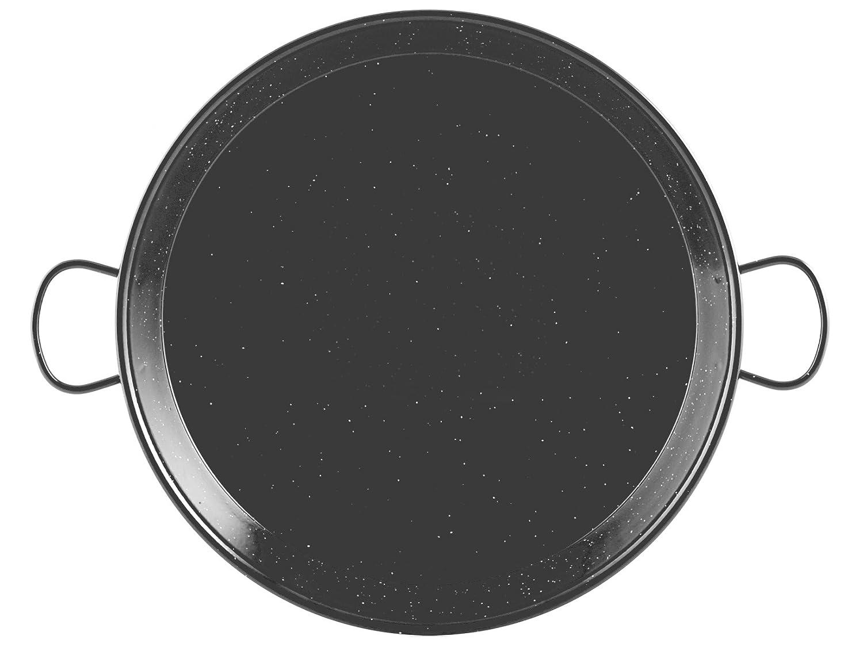 Negro di/ámetro 20 cm Orbegozo PXH 4020 Paellera Honda esmaltada