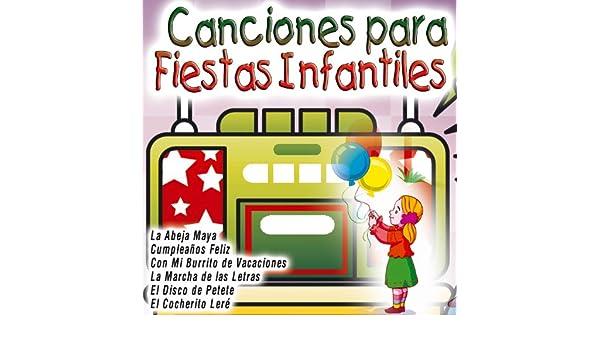 Canciones para Fiestas Infantiles by Various artists on Amazon Music - Amazon.com
