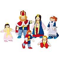 Goki - Familia del Rey, 6 muñecos articulados