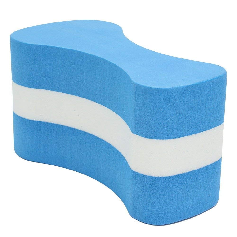 shangmu 2 Pieces Water Sports Swimming Leg Float Board Swimming Board Pull Buoy Suit for Training Equipment Swimming Pool Tool Aid for Adult Children