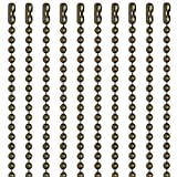 30 Inch Medieval Brass Finish Number 3 Ball Chain