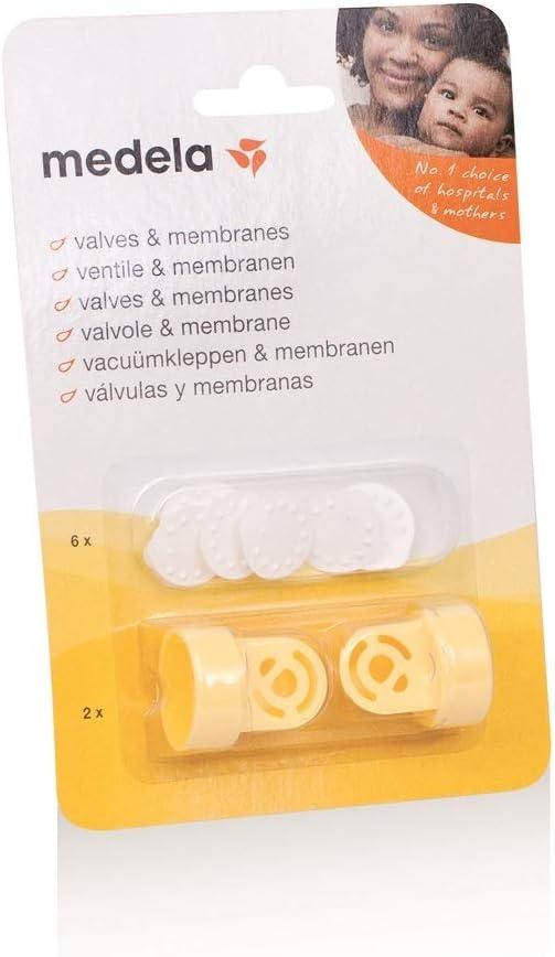 Recambio de válvulas y membranas para sacaleches Medela