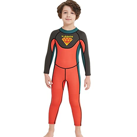 Image Unavailable. Image not available for. Color  Nataly Osmann Kids 2.5mm Wetsuit  Neoprene 2.5mm Full Body ... 1c9c7479a