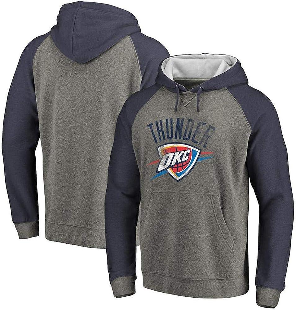 JUBAOPEN Sudadera Con Capucha De La NBA Oklahoma City Thunder ...
