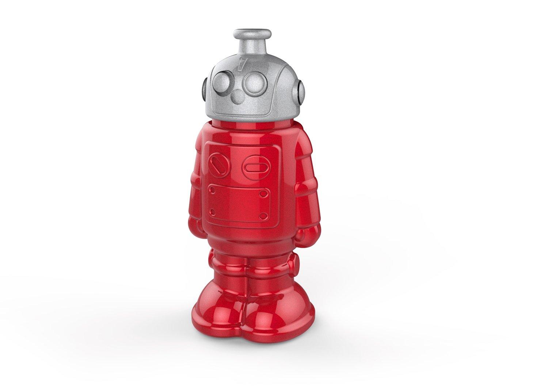 Genuine Fred BOT-L Robot Sports Bottle