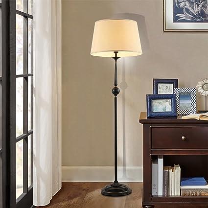 Lampadaire Moderne américain simple lampe verticale rustique ...