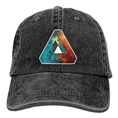 Baseball Cap Abstract Geometry Nebula - Adjustable Trucker Hat Cotton Denim, DanLive Abstract Geometry Nebula