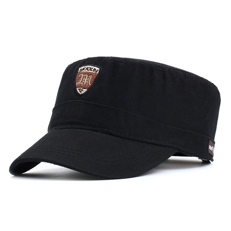 sombrero de los hombres Versión coreana de la moda de la tapa plana Gorra  militar Deportes de ocio al aire libre tapa gorra  sombra de otoño Sombrero  para ... 241035c83b7