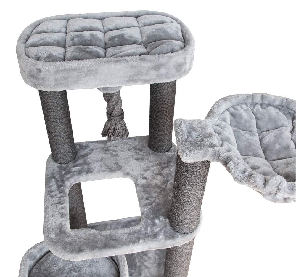 Best Pet Supplies CTF02 Cat Tree Cat Condo, 52'' by Best Pet Supplies, Inc. (Image #2)