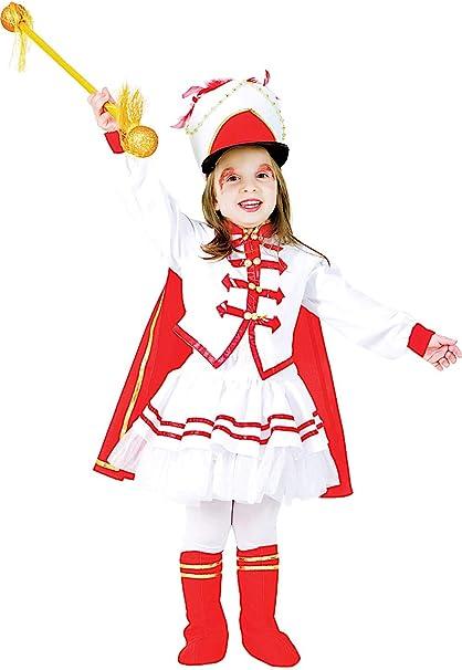 Disfraz Majorette Vestido Fiesta de Carnaval Fancy Dress Disfraces ...