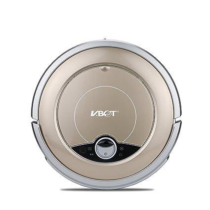 VBOT GVR668F Robot Aspiradora, 1500 PA Succión Fuerte, con Auto-Carga, Mando