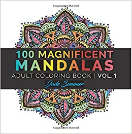Amazoncom Mandala Coloring Book 100 Unique Mandala Designs and