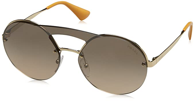 Sunglasses - PR 0PR65TS 36 ZVN4P0 - brown, gold - Sunglasses for ladies Prada