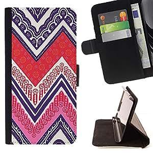 Momo Phone Case / Flip Funda de Cuero Case Cover - Tarjetas Poker Tinta Modelo púrpura - LG G4c Curve H522Y (G4 MINI), NOT FOR LG G4
