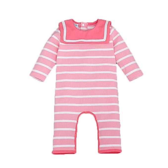 Bebone Mameluco Pelele Bebé Niños Niñas Camiseta Manga Larga Pantalón Largo a Rayas: Amazon.es: Ropa y accesorios