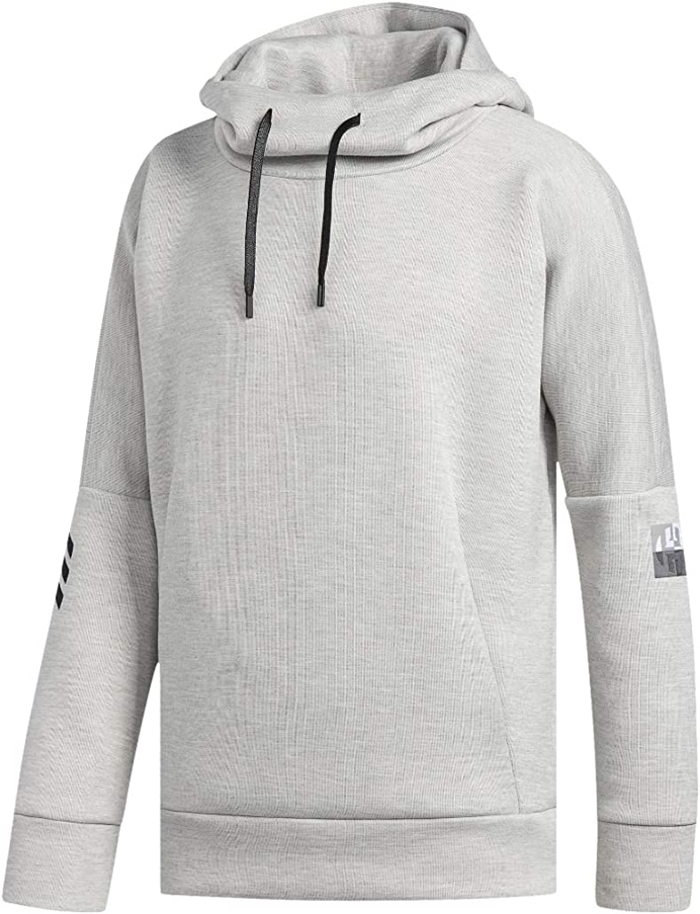 ADIDAS Men/'s 2XL Black and Gray pullover NEW Free Shipping