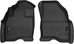 Husky Liners 13761 Black Fits 2015-19 Ford Explorer Weatherbeater Front Floor Liners, 2 Pack