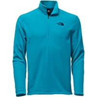 The North Face Mens Tech Glacier 1/4-Zip Fleece Jacket in(Blue)