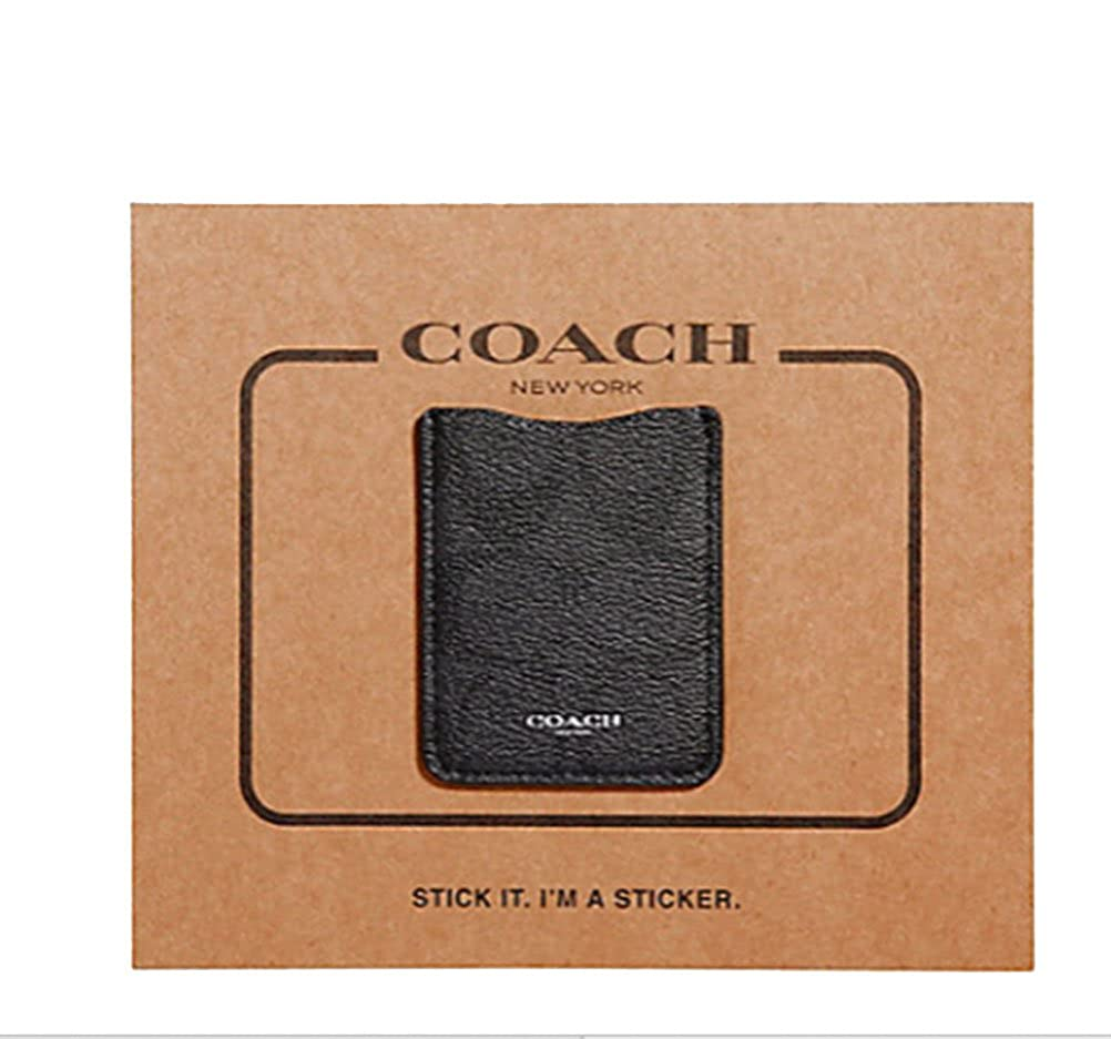 c32be9a8 Coach Leather Phone Pocket Sticker - Signature at Amazon Women's ...