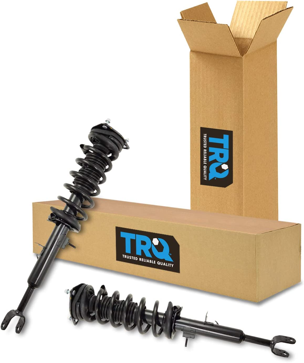 Pair Front Quick Complete Struts /& Coil Spring Assemblies Compatible with 2003-2007 Infiniti G35 RWD
