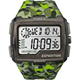 Timex TW4B07200 Mens Grid Shock Green Resin Strap Watch