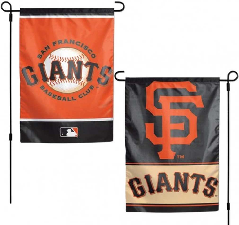WinCraft MLB San Francisco Giants Flag12x18 Garden Style 2 Sided Flag, Team Colors, One Size