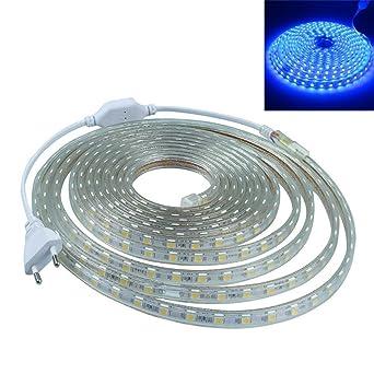 LEDMOMO 1 M RGB impermeable 5050 tira impermeable del LED luces led para decoración de fiesta