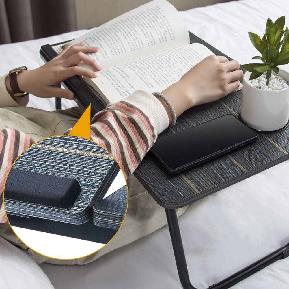 4 Colori Color : Beige CAIJUN Supporto Portatile Laptop Camera da Letto Angolo Regolabile Pieghevole Riser per Laptop per Dormitorio Divano Letto