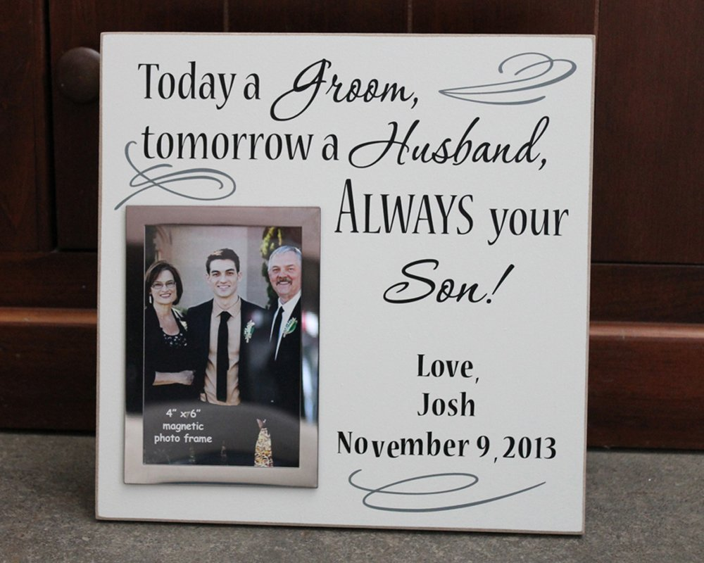 Amazon 12x12 Today A Groom Picture Frame Tomorrow A Husband