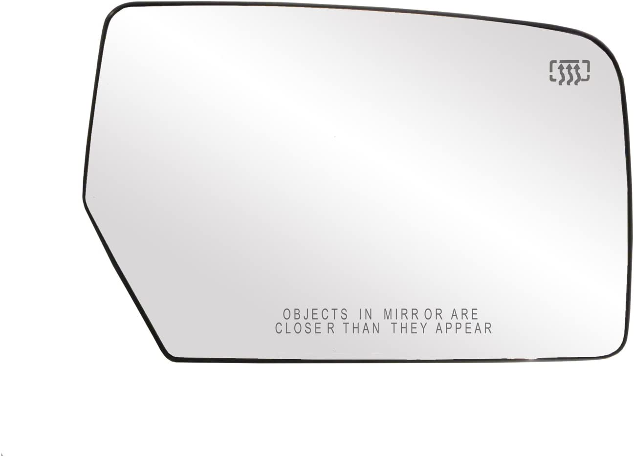 Mirror Glass For 2007-2008 Ford Edge Right With Backing Plate