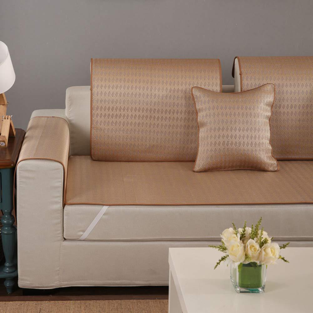 Amazon.com: Non-Slip Bamboo Sofa Cover,Cooling Sofa ...