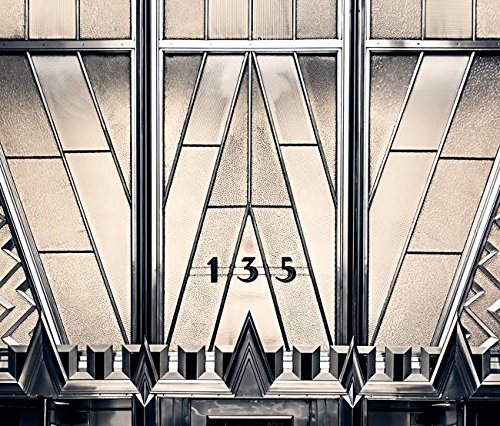 Wall Art Print entitled Chrysler Building Entrance by James Howe | 42 x 36