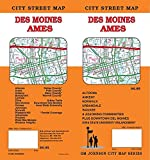 Des Moines / Ames, Iowa Street Map