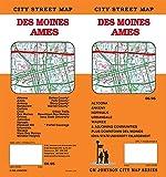 Des Moines / Ames, Iowa Street Map